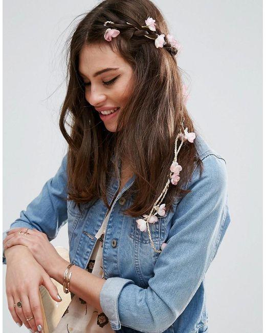 ASOS | Multicolor Summer Lily Vine Hair Wrap | Lyst