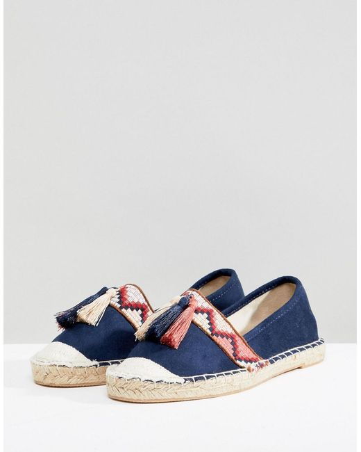 official cheap online ebay for sale New Look Tassel Embroidered Flat Espadrille discount many kinds of Pzktm