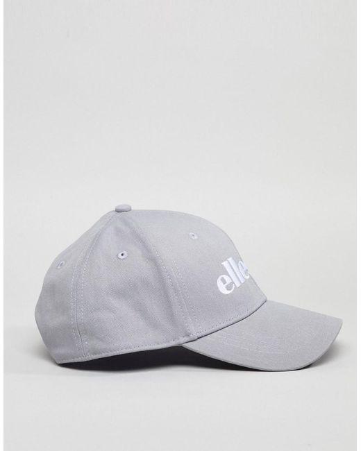 Volo Baseball Cap With Small Logo In Grey - Grey Ellesse pJw8oQo12A