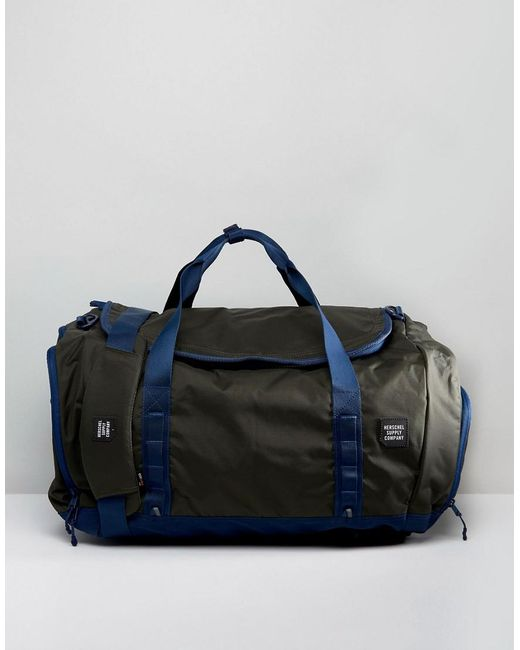 Herschel Supply Co. | Green Gorge Holdall Large 63l for Men | Lyst