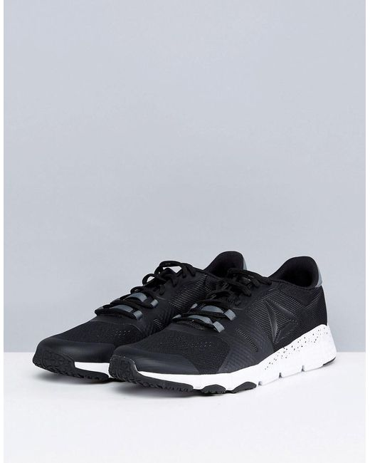 Outlet Store Locations Training Trainflex 2 Trainers In Black BS9906 - Black Reebok Recommend Cheap Online WKaU2d4Q