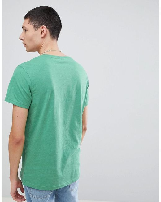 Sale Cheapest Price Outlet For Nice Press Schoolboy T-shirt - Green Weekday DGMk9HpH