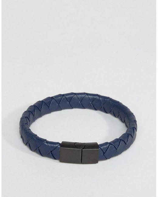 Seven London | Brown Leather Bracelet for Men | Lyst