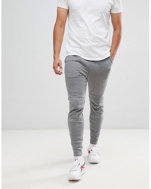 502b1facdc1 G-Star RAW Motac-x Logo Tapered joggers In Grey in Black for Men - Lyst