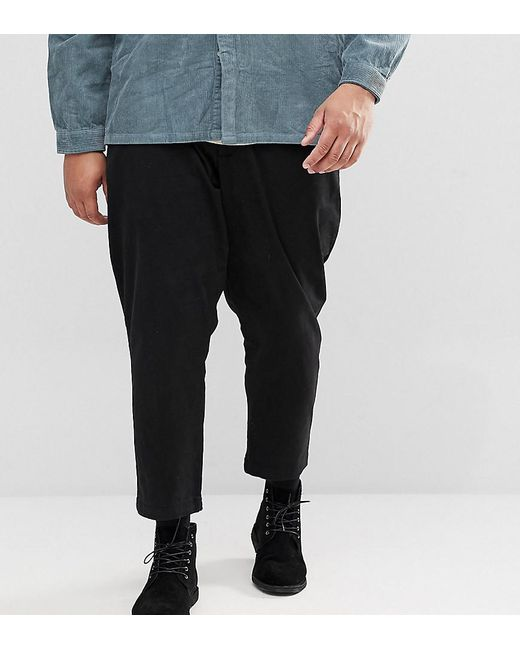 Only & Sons - Black Cropped Chinos for Men - Lyst