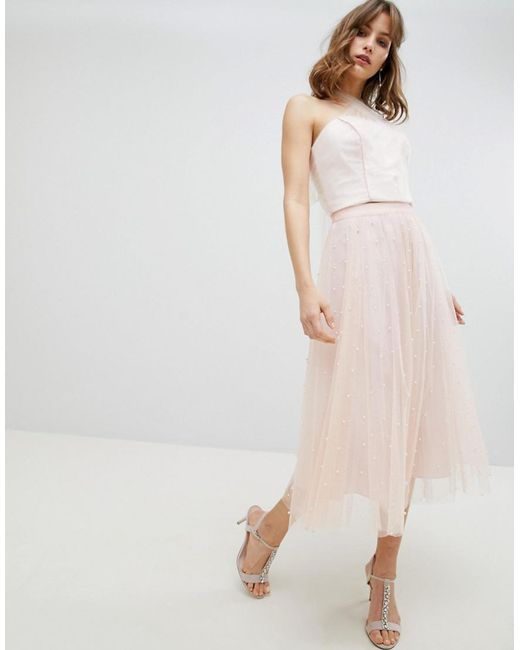 Coast - Pink Tari Multi Tie Top - Lyst