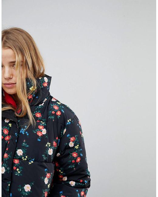 Reversible Floral Padded Jacket - Multi Miss Selfridge Shop Offer Cheap Online Buy Cheap Pay With Paypal IpjkGH4IoG