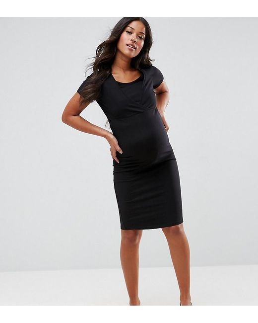 New Look | Black Nursing Dress | Lyst