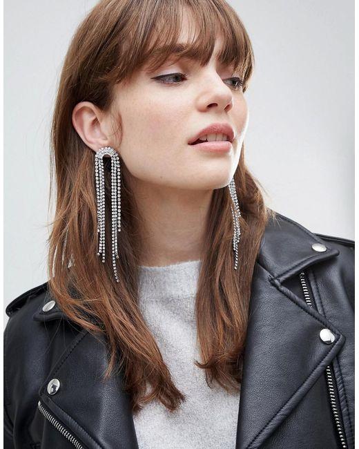 Ashiana - Metallic Statement Drop Earrings - Lyst