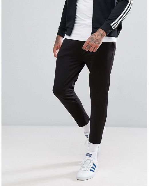 ASOS   Black Skinny Jogger In Poly Tricot for Men   Lyst
