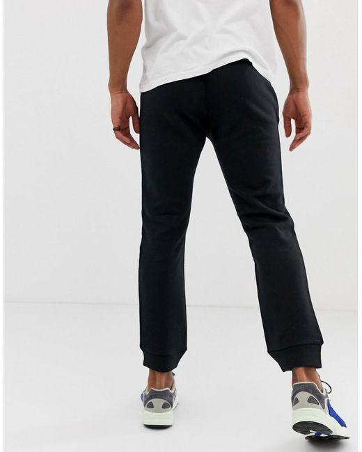 1877917bb ... Adidas Originals - joggers Slim Fit With Logo Embroidery Black for Men  - Lyst