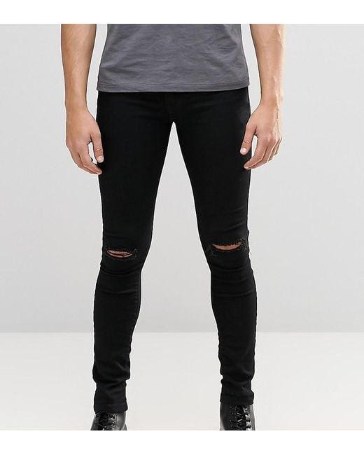 Brooklyn Supply Co Black Hunter Spray On Denim Jeans - Black Brooklyn Supply Co. n5IRXzNL7