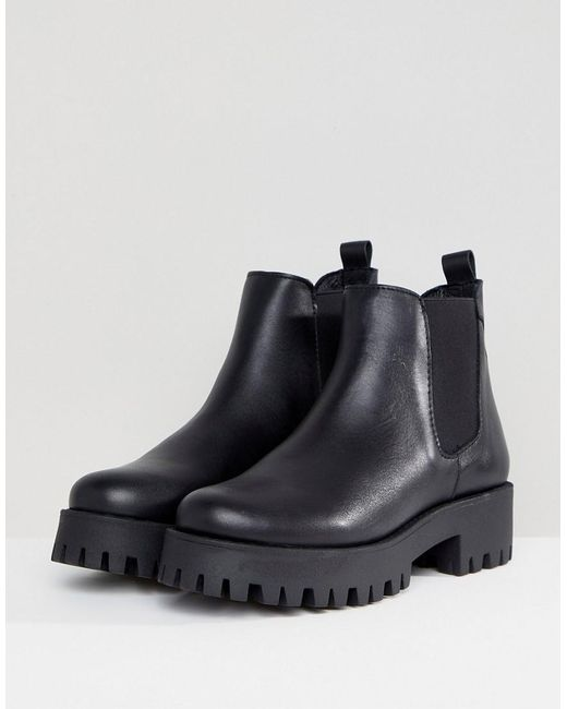 Steve Madden Bleeker Leather Track Sole Chelsea Ankle Boots sale best free shipping pay with paypal outlet visit new sale low shipping newest sale online xpYZrltO