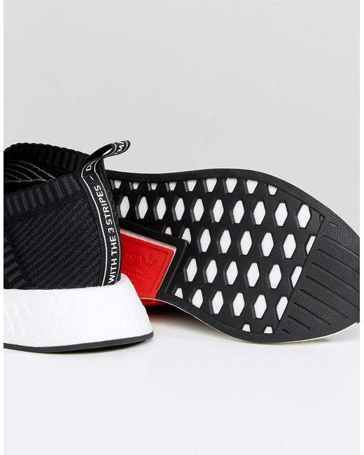 Adidas Originals Formateurs Nmd Cs De Primeknit Dans Cq2372 Noir - Noir ZjicpNvSD