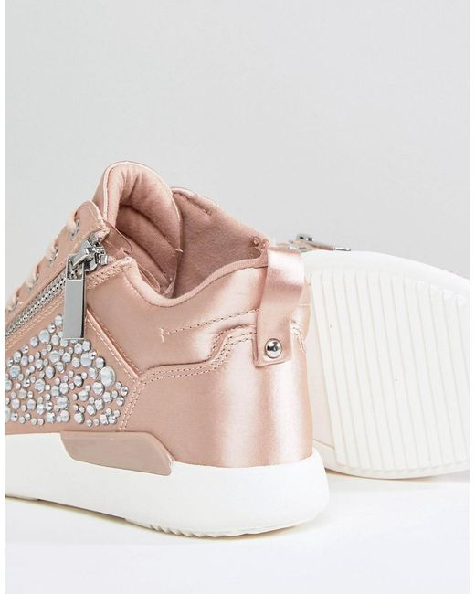 ALDO Trainer in Satin with Embellishment sale 2014 unisex buy cheap Cheapest amazing price sale online ni5yP8t7