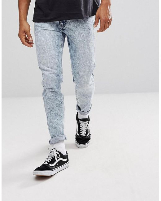 Levi's - Blue Levi's Line 8 Slim Tapered Jeans Science for Men - Lyst