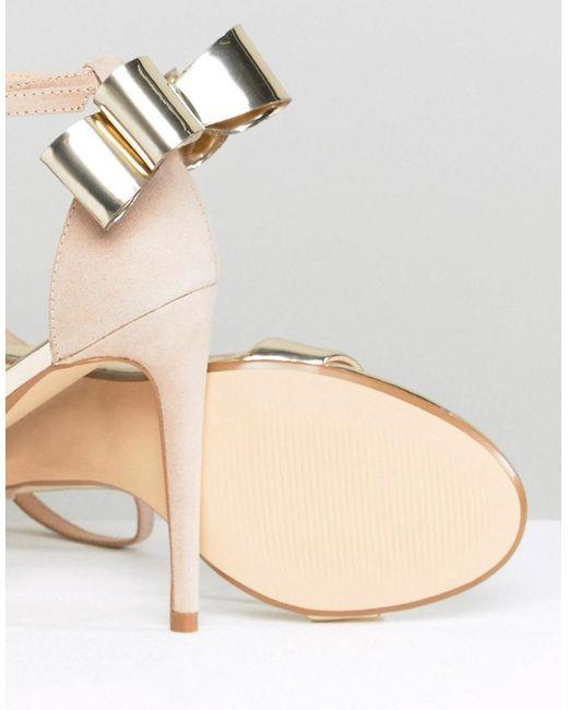 Office Harriet Mix Bow Detail Heeled Sandals iXEdklMN