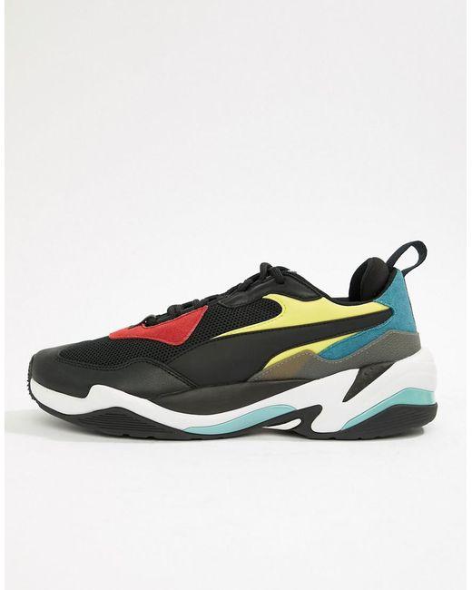 eb68c0fe32f Lyst - PUMA Thunder Spectra Sneakers In Black 36751601 in Black for Men