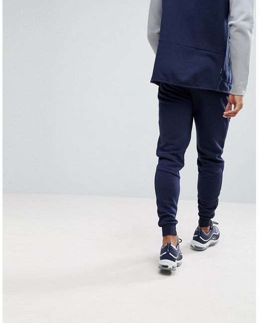 Skinny Track Joggers In Navy - Navy The Gym King Shipping Discount Authentic POkJSJh7xF