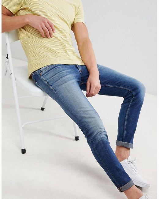Calvin Klein Skinny Jeans In Power Blue for men