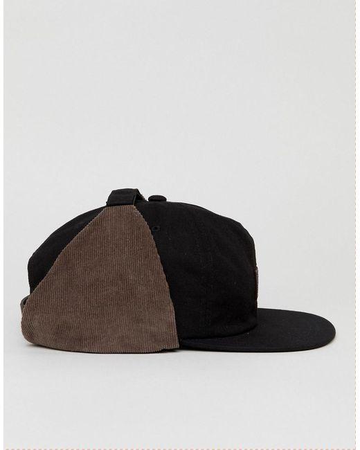 Qualité Chapeau De Trappeur Ef - Brixton Noir 77PwpiIzW