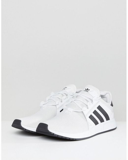 X PLR Trainers In White CQ2406 - White adidas Originals lnm3z7