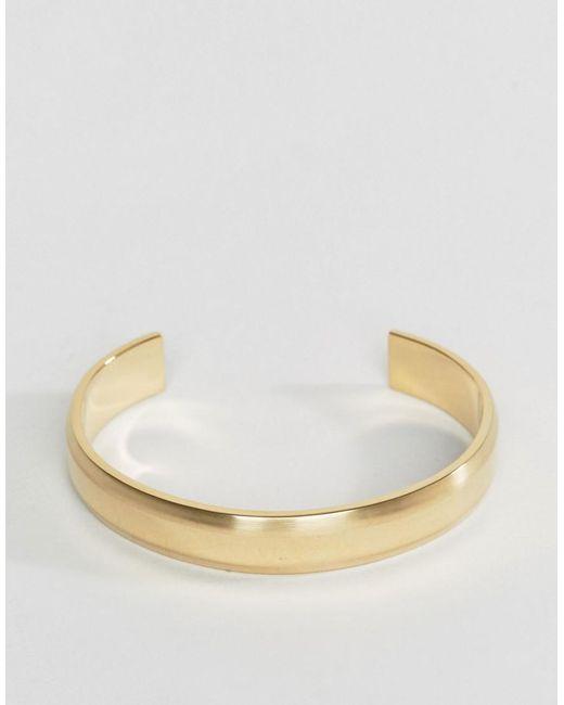 Vitaly | Metallic Traka Bangle Bracelet In Gold for Men | Lyst