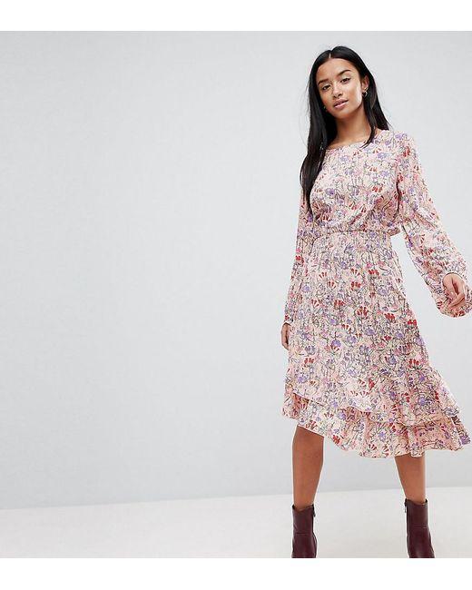 0017c118b Vero Moda - Multicolor Paisley Printed Asymetric Dress - Lyst ...