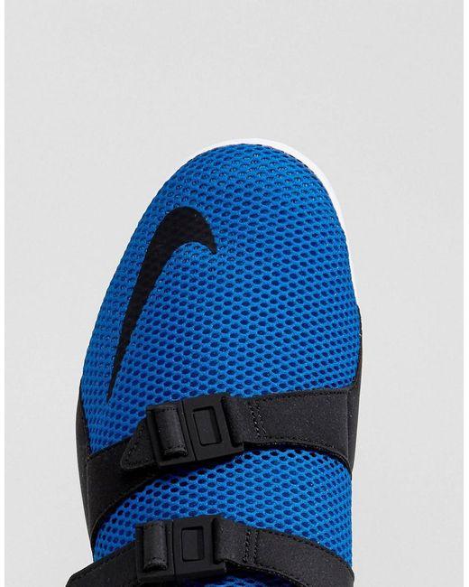 Nike Air Sockracer Formateurs Ultra Soi En Bleu 918244-400 - Bleu 7yFI1