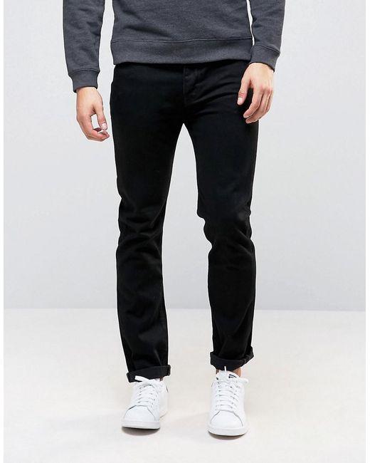 ASOS - Slim Jeans In Black for Men - Lyst ...