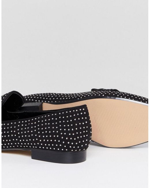 Aldo Cheade Flat Slip On Shoe with Pin Studs oYwUgES