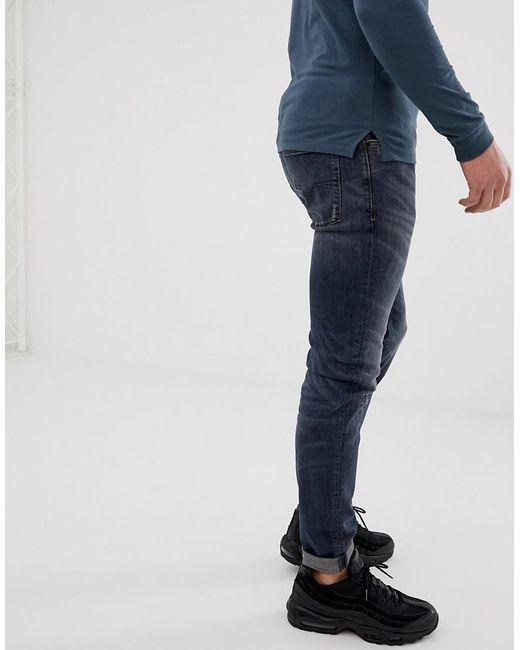 detaillierte Bilder Schnäppchen für Mode spätester Verkauf Sleenker Skinny Fit Jeans In 069dg Dark Wash
