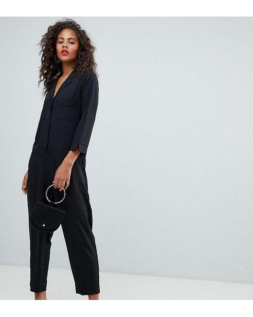 cab5c643827 Y.A.S - Black Tailored Jumpsuit - Lyst ...
