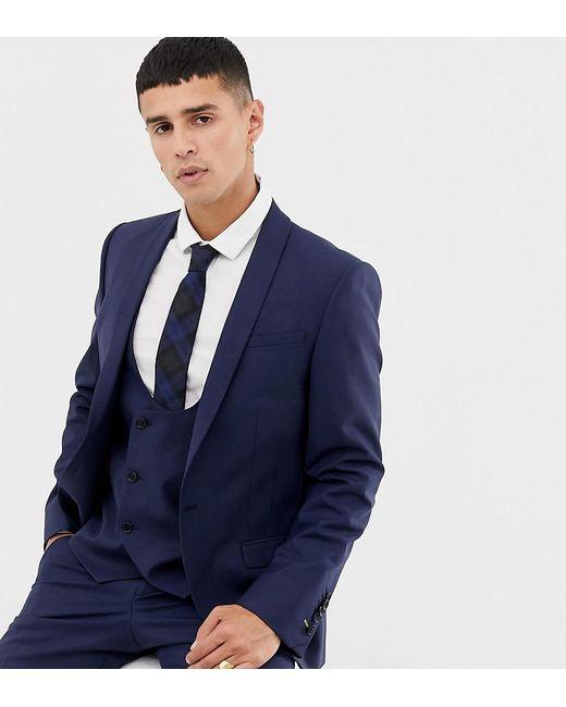fc4842a01927 Noose And Monkey - Blue Super Skinny Suit Jacket for Men - Lyst ...