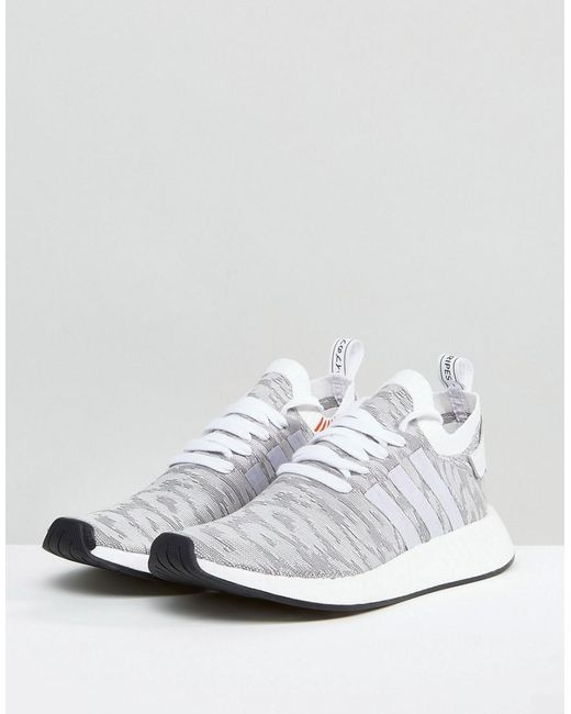 NMD R2 Trainers In White - White adidas Originals XylUjnoD