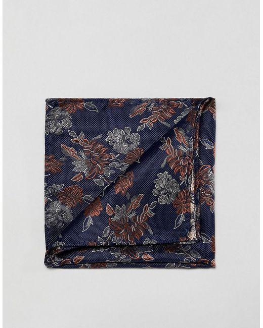 French Connection - Blue Pochette fleurs for Men - Lyst