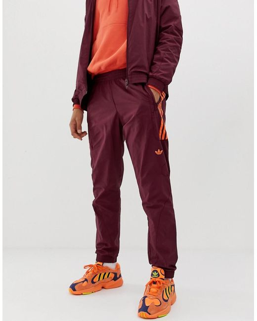 Strike in for Track Pant Flame Originals Lyst Red Men Adidas In Red BEFgwxWWqR