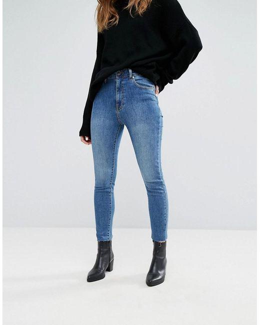 Moxy High Rise Super Skinny Jean - Blue lush Dr. Denim JWZzD