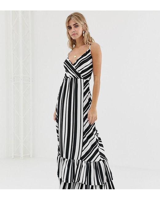 a149c9074c2b5 Boohoo - Multicolor Mixed Stripe Maxi Dress - Lyst ...