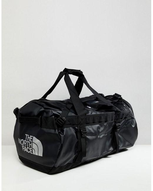 f6ed8b0e3e3 The North Face - Base Camp Duffel Bag Medium 71 Litres In Black for Men ...