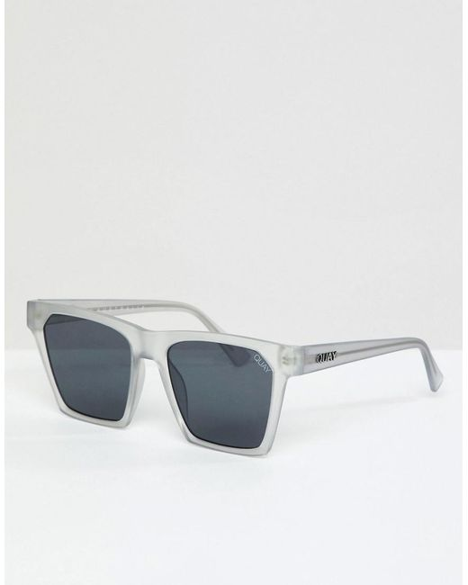 alright square sunglasses in black - Black Quay Eyeware LDYb9Yg