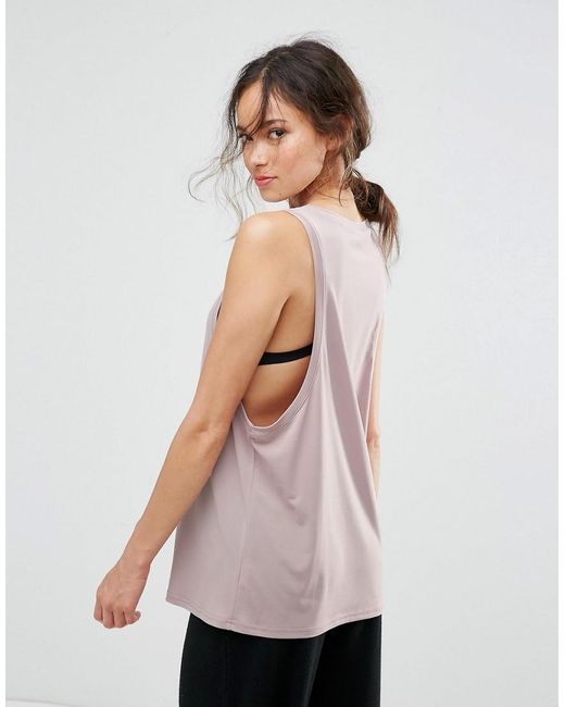 Love | Natural Slinky Low Sided Tank | Lyst