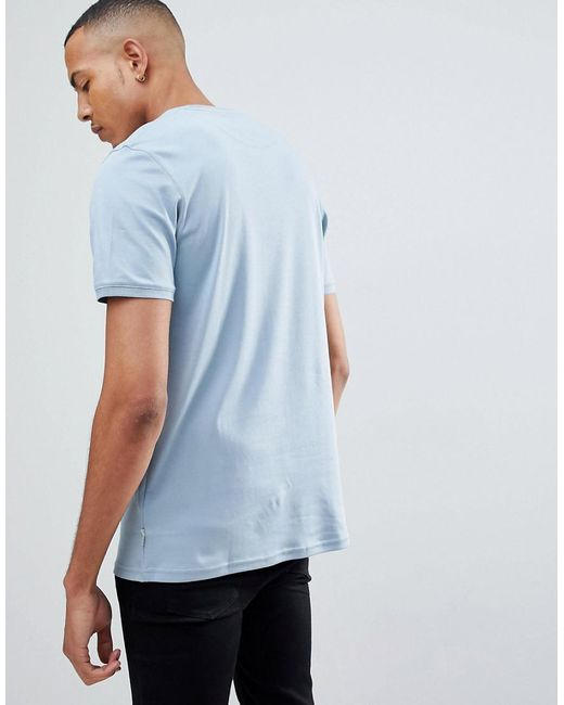 TALL T-Shirt With Contrast - White Ted Baker Buy Cheap Shop Offer HQz49VLN