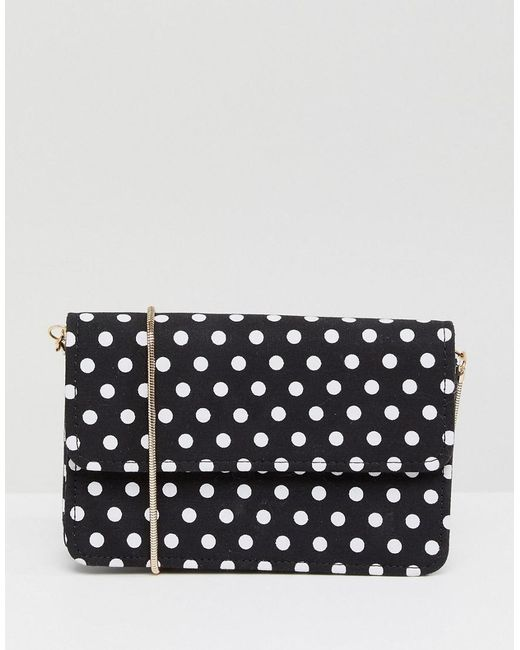 Miss Selfridge - Multicolor Polka Dot Crossbody Bag - Lyst