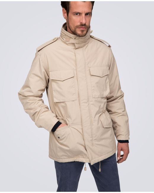 Aspesi   Natural Thermore Jacket New Field for Men   Lyst