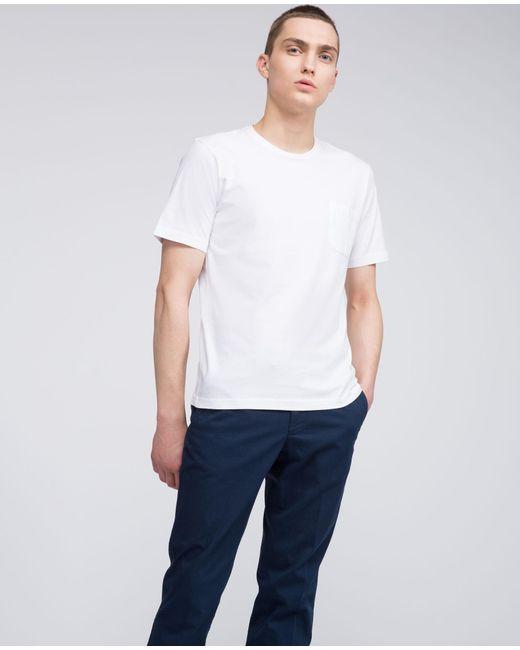 Aspesi - White Cotton T-shirt for Men - Lyst