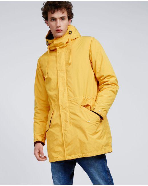 Aspesi - Yellow Thermore Jacket Parkettone for Men - Lyst