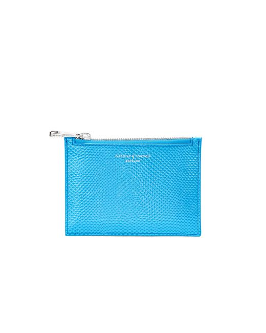 Aspinal - Blue Essential Small Pouch - Lyst