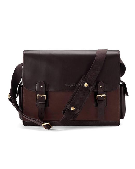 Aspinal - Brown The Large Shadow Messenger for Men - Lyst