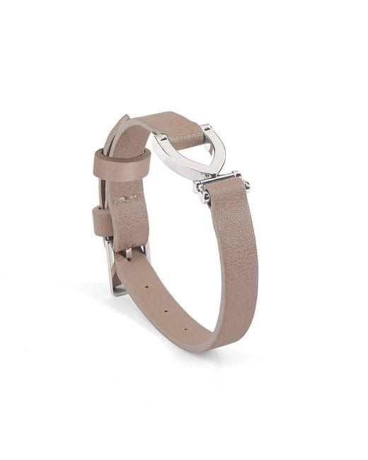 Aspinal - Metallic Stirrup Bracelet - Lyst